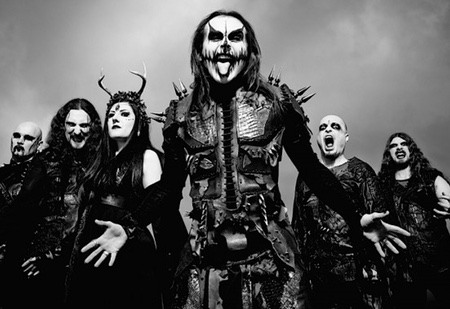 CRADLE OF FILTH IN CONCERTO A BOLOGNA
