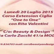 CORSO EXTENSION CIGLIA - CON RITA VALENTINI