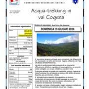 ACQUA-TREKKING IN VAL COGENA