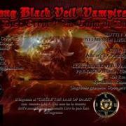 LONG BLACK VEIL VAMPIRES BALL - CIRCLE THE LAIR OF DARLK