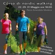 CORSO BASE DI NORDIC WALKING 22 29 31 MAGGIO MODENA