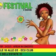 RIMINI AFRO FESTIVAL 6° ED. - SABATO 29 LUGLIO 2017